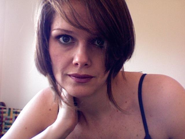 Ainda não me acostumei com o cabelo novo...