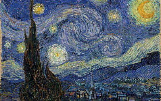 Noite, de Vincent Van Gogh