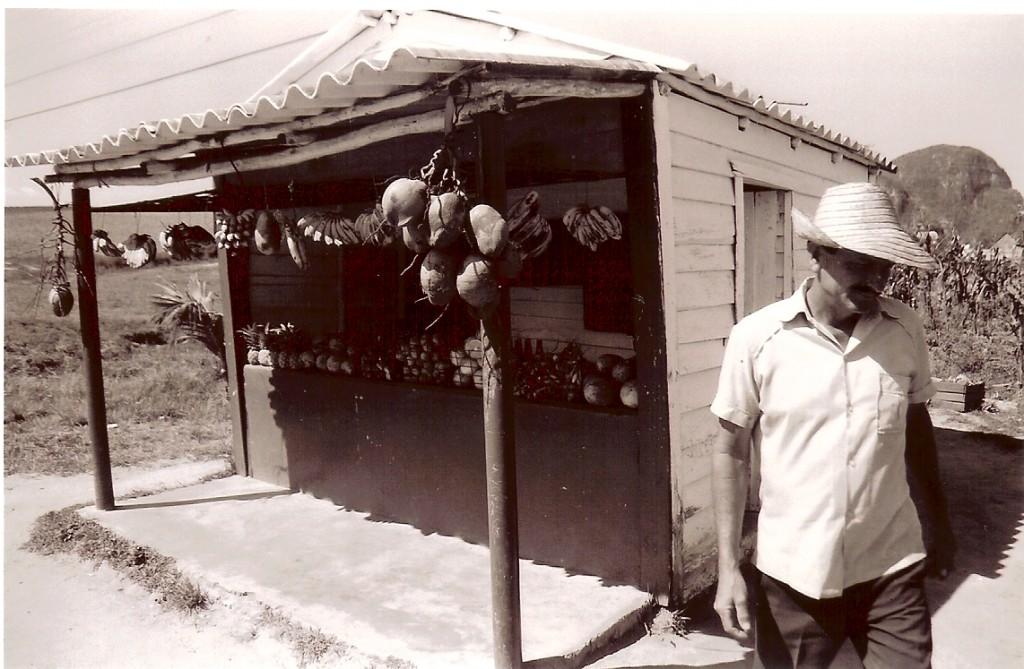 Uma venda, típica em Cuba