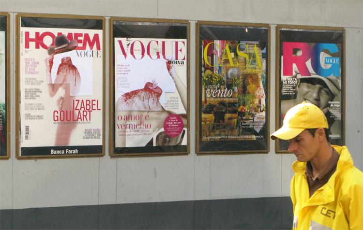 Quando a revista vira arte